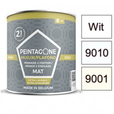 Peintagone Finish Gold Wit, RAL9001, RAL9010